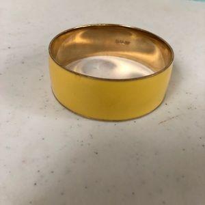 Yellow jcrew bracelet
